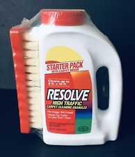 Resolve High Traffic Carpet Cleaning Granules 18oz Scrub Brush Discontinued PROP