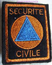 IN16259 - PATCH SECURITE CIVILE