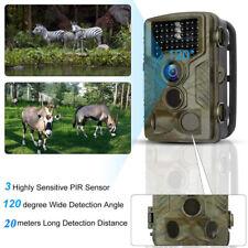 16MP Cámara de Caza 1080P Trail Cámara con PIR Infrarrojo Sensor Movimiento