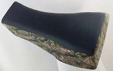 arctic cat camo seat cover 400 500 650 black gripper & camo 02-04
