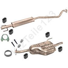 Schalldämpfer Anlage Opel Astra G Caravan 1,4 1,6  Auspuff