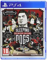 Sleeping Dogs Definitive Edition For PAL PS4 (New & Sealed)