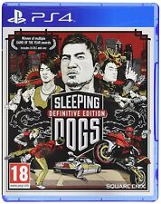 Sleeping DOGS DEFINITIVE EDITION per PS4 PAL (nuovo e sigillato)