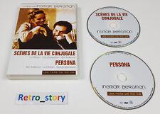 Coffret 2 DVD Scènes De La Vie Conjugale & Persona - Ingmar BERGMAN