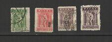 Grèce 1911/21 4 timbres oblitérés /T2571