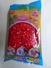 HAMA. 1000 cuentas para planchar Color ROJO