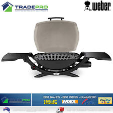 BBQ Weber Q2000 PRO Portable Gas Barbecue Grill Stainless Steel Burner with Hose