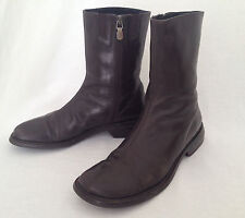DONALD J PLINER  ankle boots - Size 6.5 M - Ancona - Espresso Brown - Italy