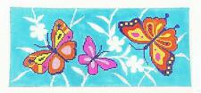Butterfly Dream handpainted Needlepoint Canvas  BR Insert  by LEE Needle Art
