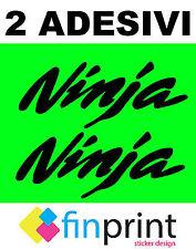 Kit 2 Adesivi Stickers Moto ninja, Kawasaki, 600, superbike, Tuning
