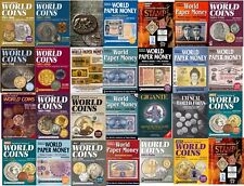 CATALOGO MONETE/BANCONOTE WORLD COINS/PAPER ROMANE STAMP - DIGITALI IN PDF