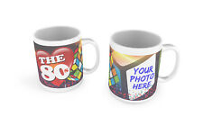 The 80's Mug With YOUR PHOTO 80's Funny Nostalgic