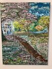 """Original oil painting 18x24 signed """"My Monet"""""""