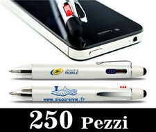 250 pz. Penna Smartpen TouchPad per smartphone-iphone-ipad-tablet-touch screen