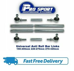 PRO SPORT ADJUSTABLE DROP LINKS ANTI ROLL BAR LINKS FOR SEAT LEON MK2 1P