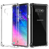 For Samsung Galaxy Note 9 Ultra Thin Bumper+PC Crystal Clear Hard Back Case