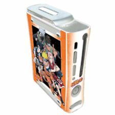 NEW XBox 360 Shonen Jump NARUTO Faceplate Case Skins Console decal Gamer Graffix