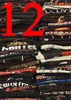 METAL BAND SHIRT aus Sammlung Auflösung 12 Death Black Grind Gore Crust Shirts
