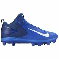 NIKE FORCE TROUT 3 MCS MOLDED BASEBALL CLEATS RACER BLUE 858502-447 MEN 12.5