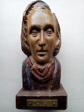 CHOPIN sculpture ancienne et rare l'art de personnage en bois dure massif