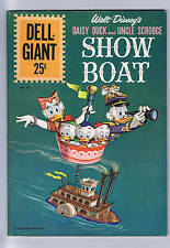 Daisy Duck and Uncle Scrooge Show Boat Dell Giant 1961