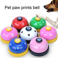 Pet Puppy Dog Cat Training Meal Bells Interactive Dinner Feeding Door Ring AU