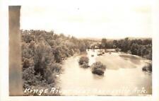 RPPC Kings River near Berryville, Arkansas Real Photo ca 1930s Vintage Postcard