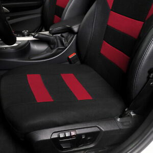 Polyester Car Seat Covers Front Chair Cushion Protector Comfortable Breathable