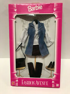 Barbie Fashion Avenue Poet Blouse white romantic sleeves hard to find NRFB New!
