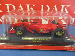 Die cast 1/43 Modellino Auto F1 Ferrari F310 B 1997 E. Irvine