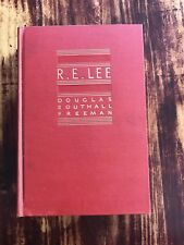 Civil War Book R.E. Lee: A Biography 1934 Volume 2, Hardcover