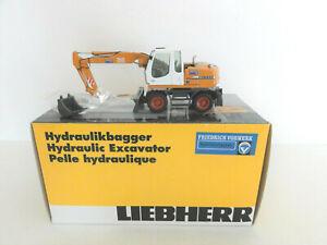 """NZG 498 LIEBHERR A 312 Wheel Excavator """"VORWERK"""" 1:50 """"NEW"""" RARE"""