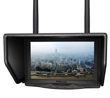 "7"" LCD FPV Monitor Brand Lilliput 329/DW Built-in Dual 5.8G Wireless Receiver"