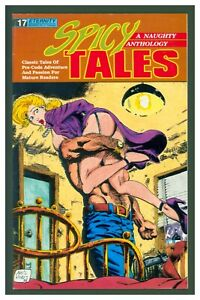 Spicy Tales #17 Fine+ 1990 Eternity Comics - GGA Cover