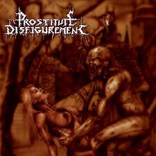 """PROSTITUTE DISFIGUREMENT """"Deeds of Derangement"""" death metal CD"""