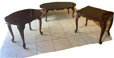 Traditional Design Coffee And End Table Set (3 Pieces)