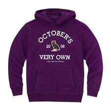 NEW October's Very Own OVO Collegiate Hoodie Purple LARGE Drake Sweatshirt Hoody