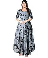 Details about  /Ladies Indian Bollywood Kurti Printed women eid Party Wear Long Tunic Kurta ak87