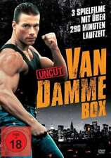 JEAN CLAUDE VAN DAMME - acción Box The Quest Leon Negro Eagle DVD Edition NUEVO