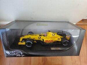 HOT WHEELS 1/18 JORDAN MUGEN HONDA EJ12 TAKUMA SATO 2002 F1 FORMULA 1 CAR 54629