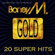 Boney M - Gold - 20 Super Hits - Boney M CD 7WVG The Fast Free Shipping