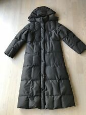 Max Mara Weekend Women's Winter Down Black Coat Size USA 4/Small
