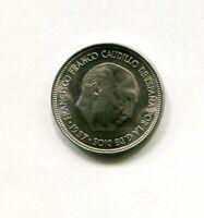 5 pesetas FRANCO 1957  * 65 SC SIN CIRCULAR