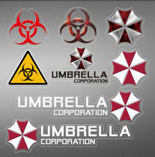 Vinyl Resident Evil Umbrella Car Sticker Auto Rear Windscreen Decal Emblem 1 PC