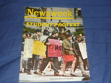 Newsweek Magazine / MAY 6 1968 / STUDENT PROTEST / THE XYY MALE A BORN CRIMINAL