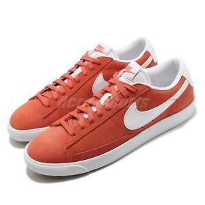 Nike Blazer Low Suede Mantra Orange White Men Casual Shoes Sneakers CZ4703-800
