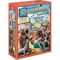 Carcassonne Under The Big Top Expansion #10 Board Z-Man Games ZMG 7820 Circus
