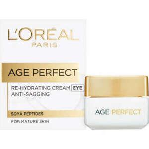 L'Oreal Paris Âge Parfait Re-Hydratant Eye Crème Anti-relâchement Peau Mature