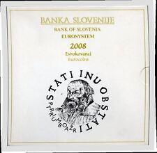 BU Slovenie 2008  * * *  coffret BU Slovénie 2008 !!!!!