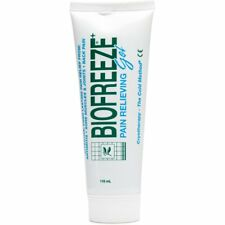 New Biofreeze Pain Relieving Gel 4 oz , Exp 03-2018 must sell Menthol USP 3.5%